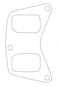 Gasket Vector Outline