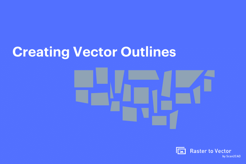 creating vector outlines